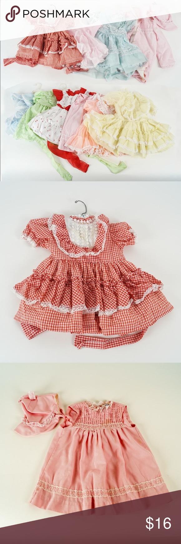 Martha S Miniatures 3t And 4t Vintage Dresses Vintage Dresses Little Girl Dresses Clothes Design [ 1740 x 580 Pixel ]