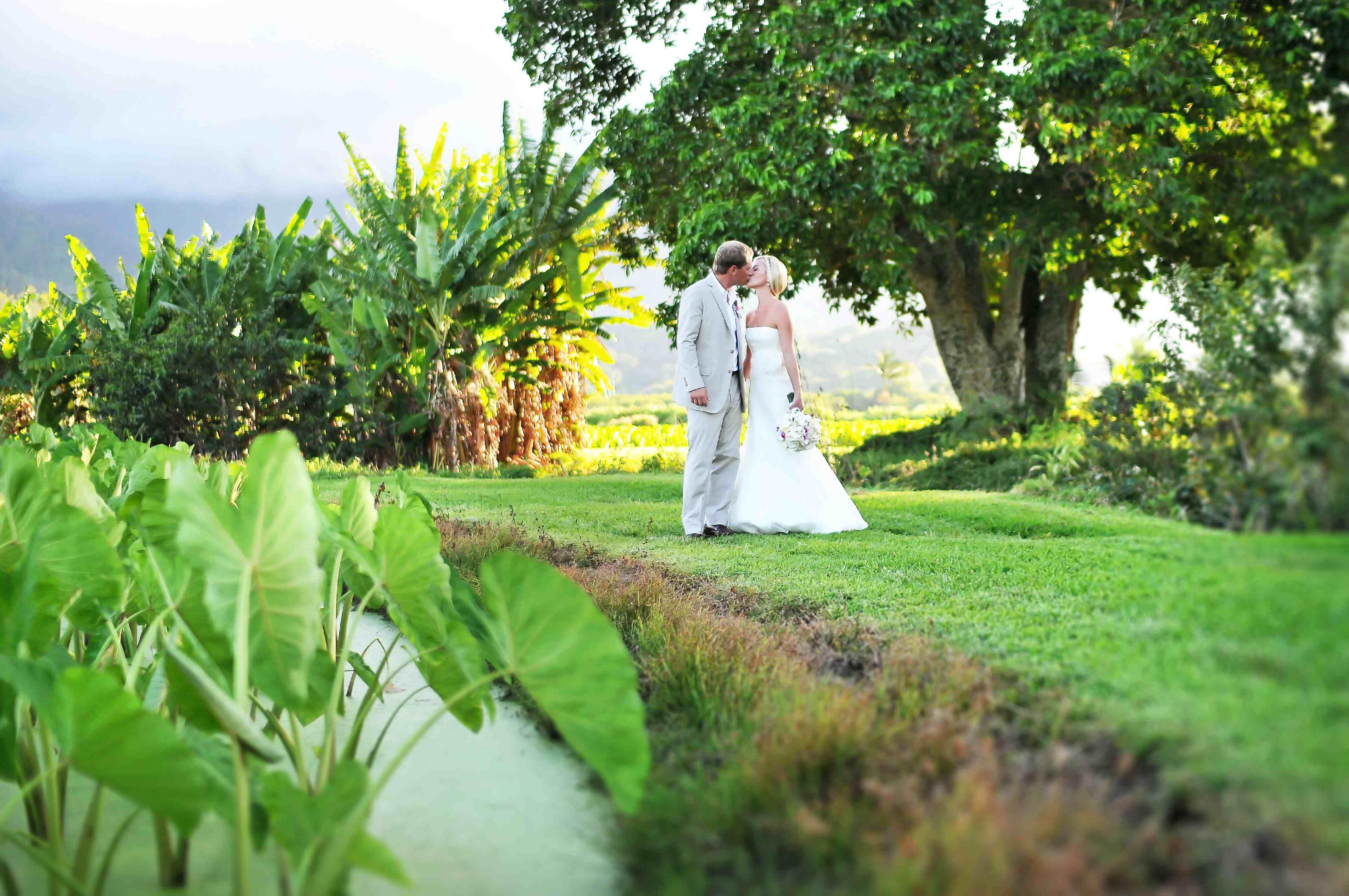 Romance In The Taro Fields Of Hanalei Kauai Wedding Design Styled By Moana
