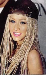 Box braids whites @mariangelmilano #boxbraidsupdo #boxbraidshairstyles # Braids africanas purple # Braids africanas purple