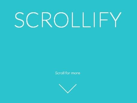 Easy jQuery Plugin For Vertical Scroll Snapping - Scrollify | jQuery