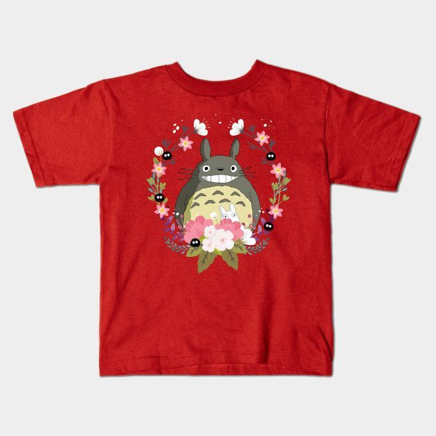 Totoro And The Spring Young T-Shirt
