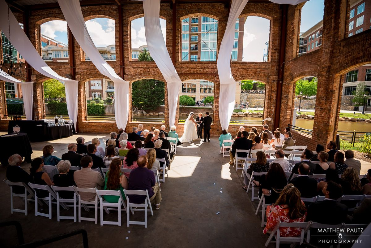 Wedding At Wyche Pavilion Downtown Greenville Sc