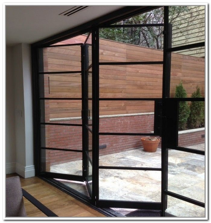 French Doors Exterior Steel Photo 5