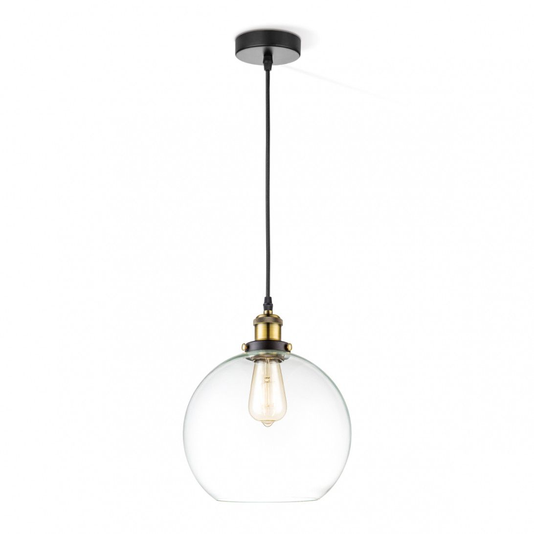 hanglamp ava A Ø 25 cm transparant | Pinterest - Verlichting en Lampen