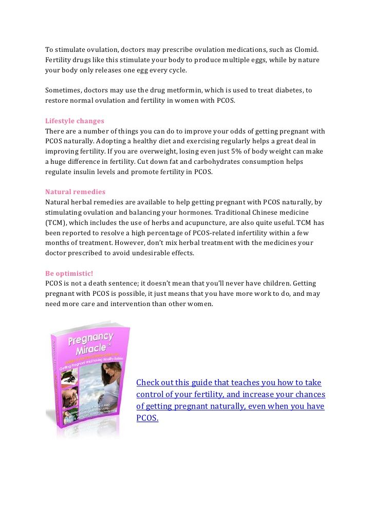 Getting pregnant with PCOS naturallyhttp://www.howtogetpregnantwithtwins1.com/how-to-get-pregnant-with-pcos/