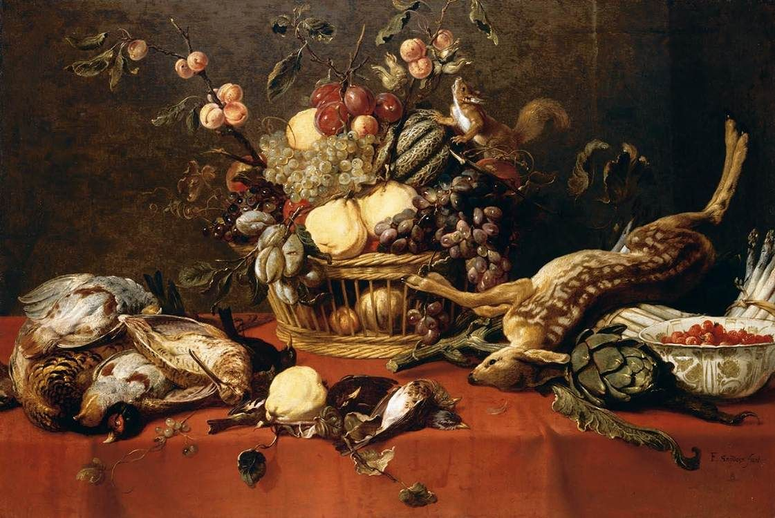 Frans snyders filefrans snyders stilllife wga21533jpg for Baroque lifestyle