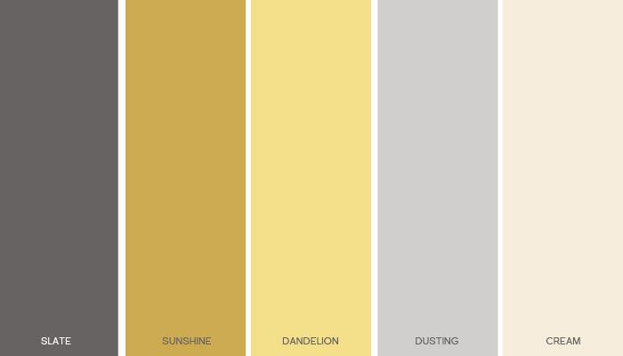 A Gender Neutral Yellow And Gray Nursery Neutral Baby Colors