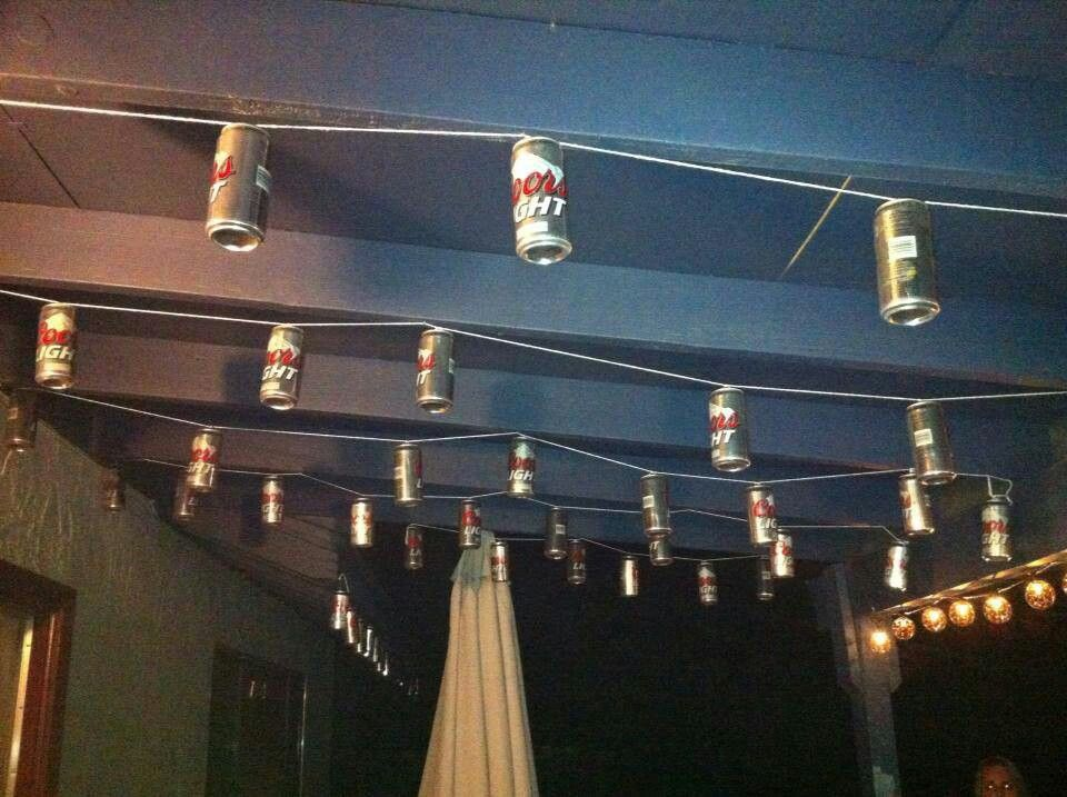 Beer Can Lights Fall