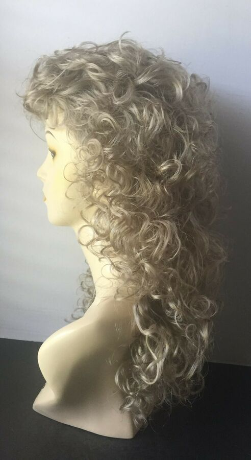 European Naturals Wig, Extra Long Curly Hair with Bangs, #R22 Light Ash Blonde  #Ad , #AD, #Extra#Long#Curly #naturalashblonde