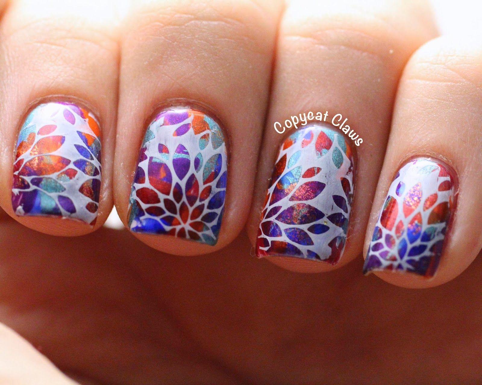 Flower Design Nail Art Design Nail Art Pinterest Flower Design