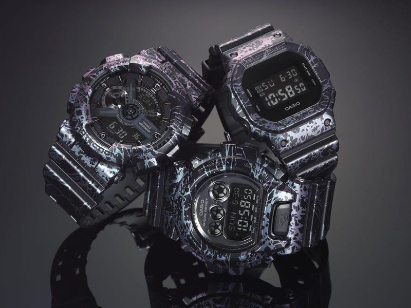 df7b6a4dd86b G-Shock lanza su colección de relojes Polarized Marble Color Series ...