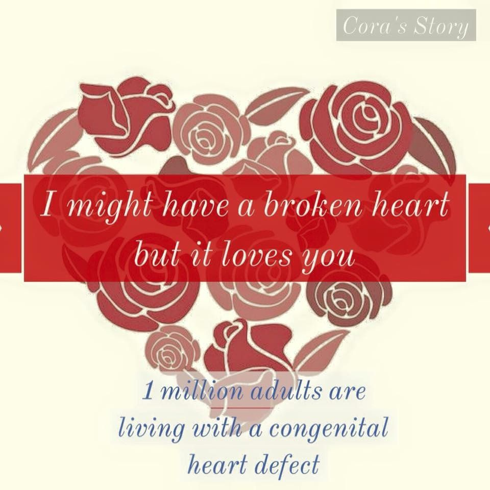 Pin by Casey Williams on My CHD | Heart defect, Congenital ...