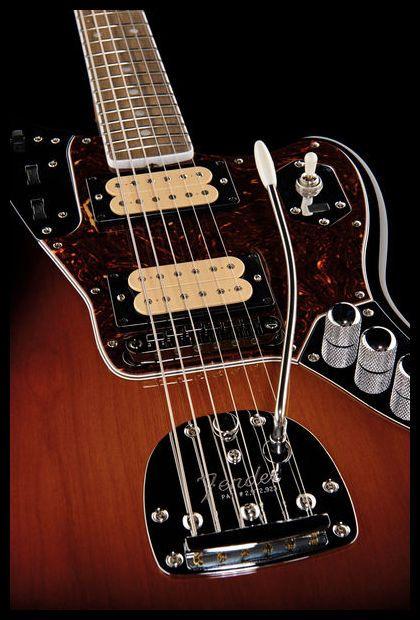 Fender Kurt Cobain Jaguar | Fender jaguar, Guitars and Signature guitar