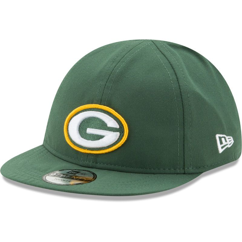 fashion the best official shop Green Bay Packers New Era Infant My First 9TWENTY Flex Hat - Green ...