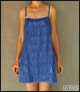 Heaven Kobaltowa Sukienka Z Fredzlami 40 42 6489350143 Oficjalne Archiwum Allegro Dresses Fashion Sleeveless Dress