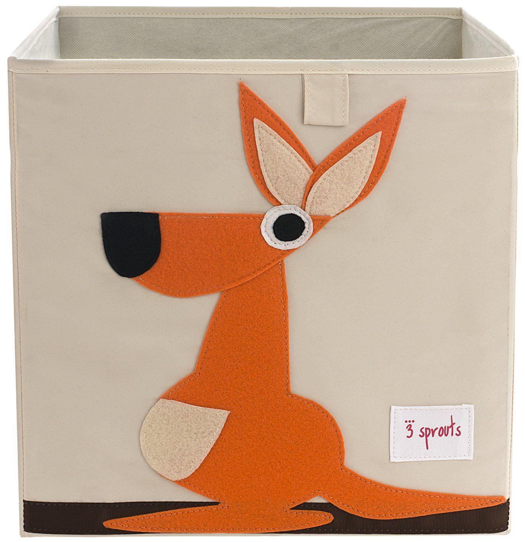 3 sprouts storage box kangaroo groovy kids decor pinterest