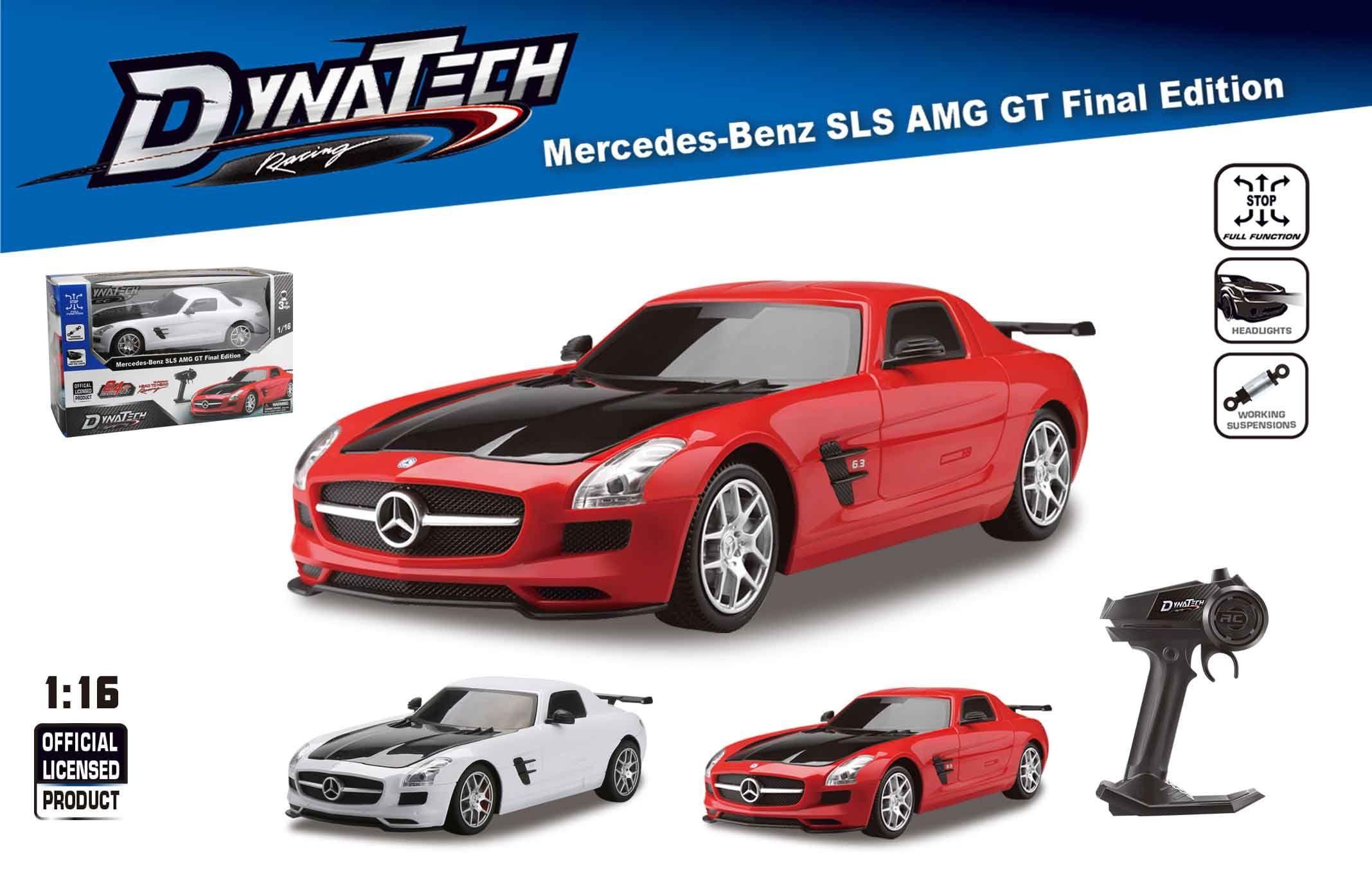 1 16 Full Function 2 4g R C Mercedes Benz Sls Amg Gt Final