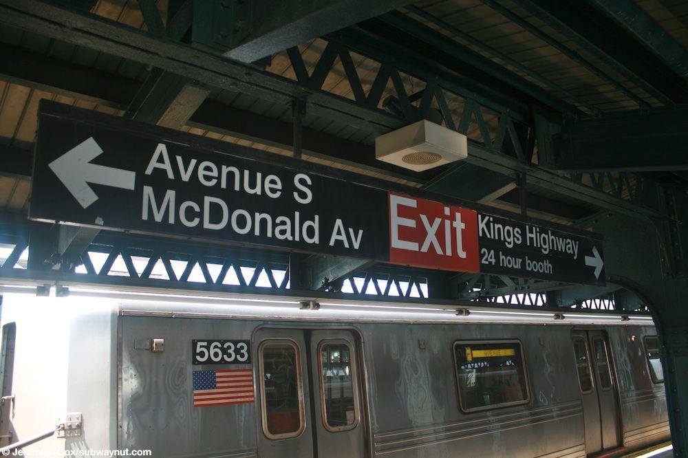 F Train New york city, City, Brooklyn