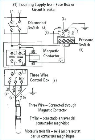 Wiring Diagram For 220 Volt Submersible Pump | Submersible ...