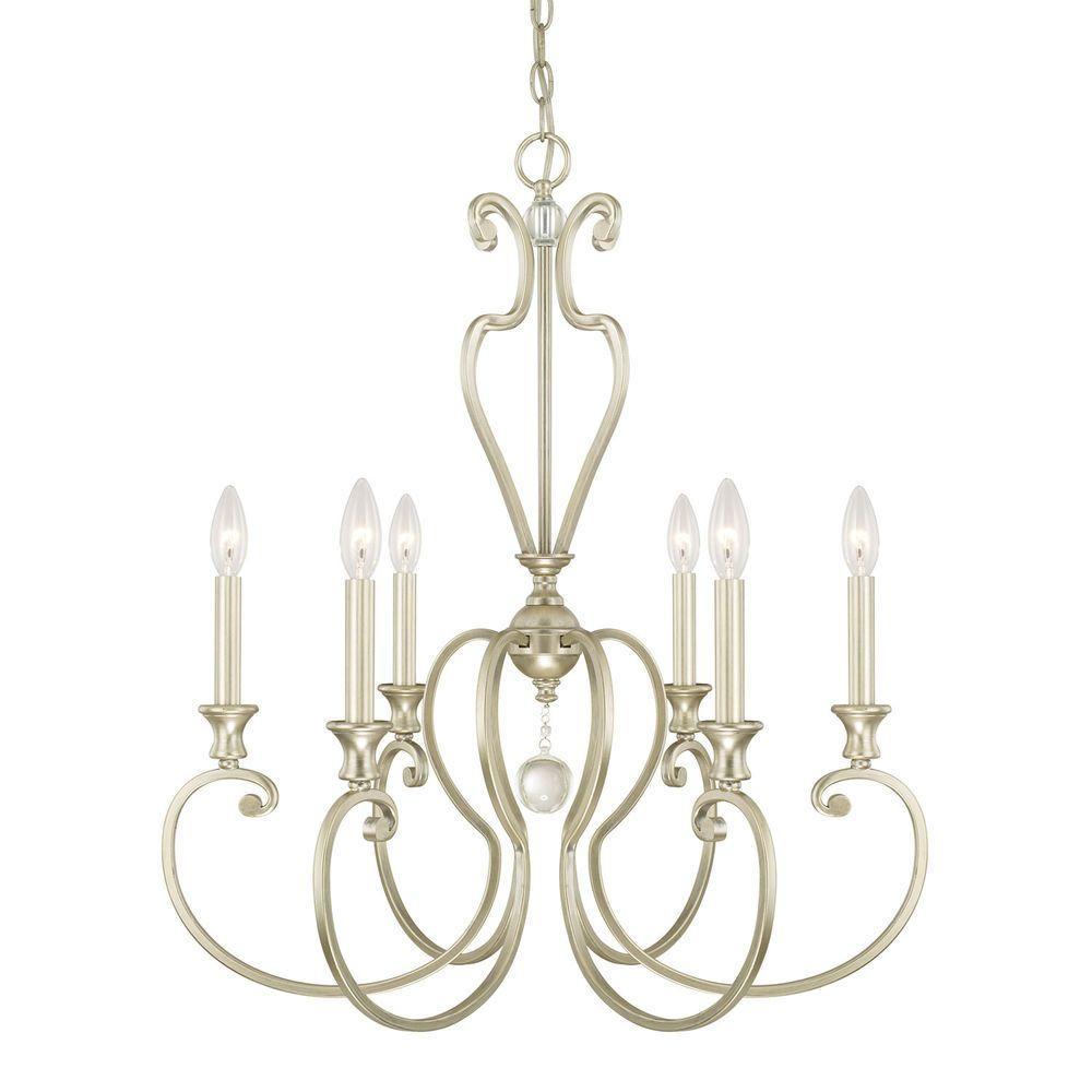 Capital Lighting Abigail 6 Light Chandelier #CapitalLighting #Traditional