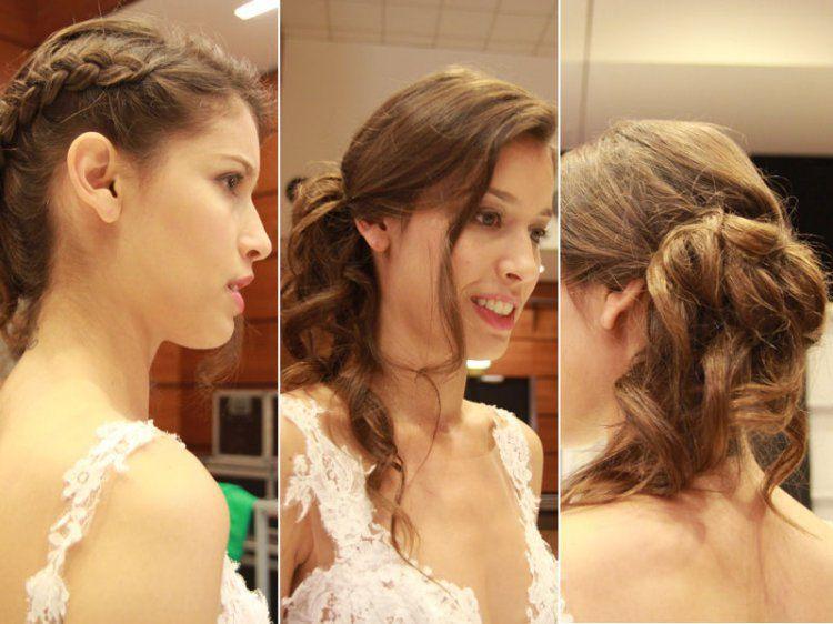 Chignon bas c t et tresse coiffure mariage pinterest coiffure mariage coiffures et salon - Chignon bas cote ...