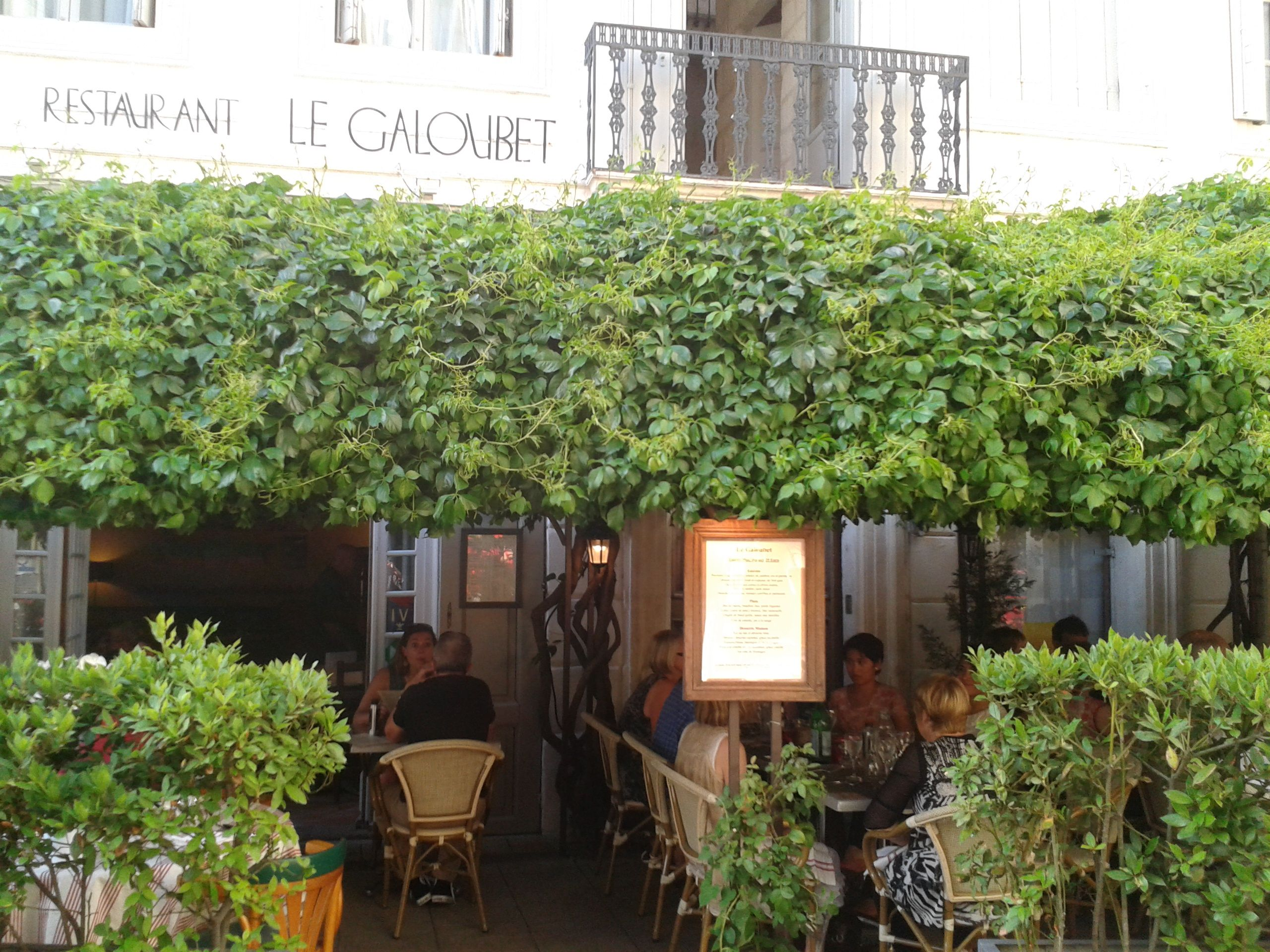 Le Galoubet Arles France Arles Restaurant France