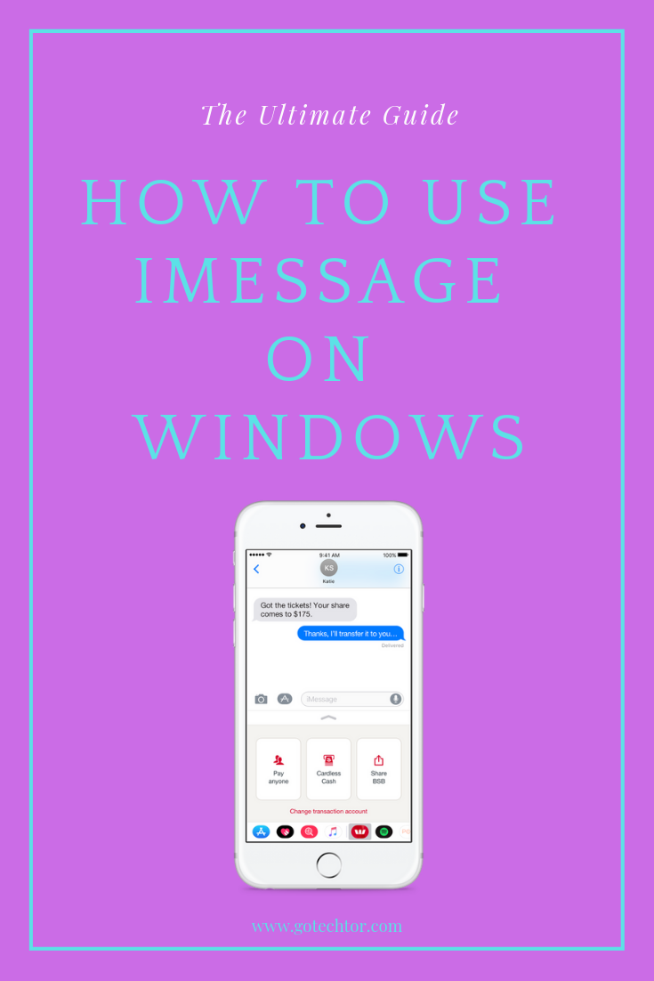 The Only Way to Get iMessage on PC (NO BS Best mobile