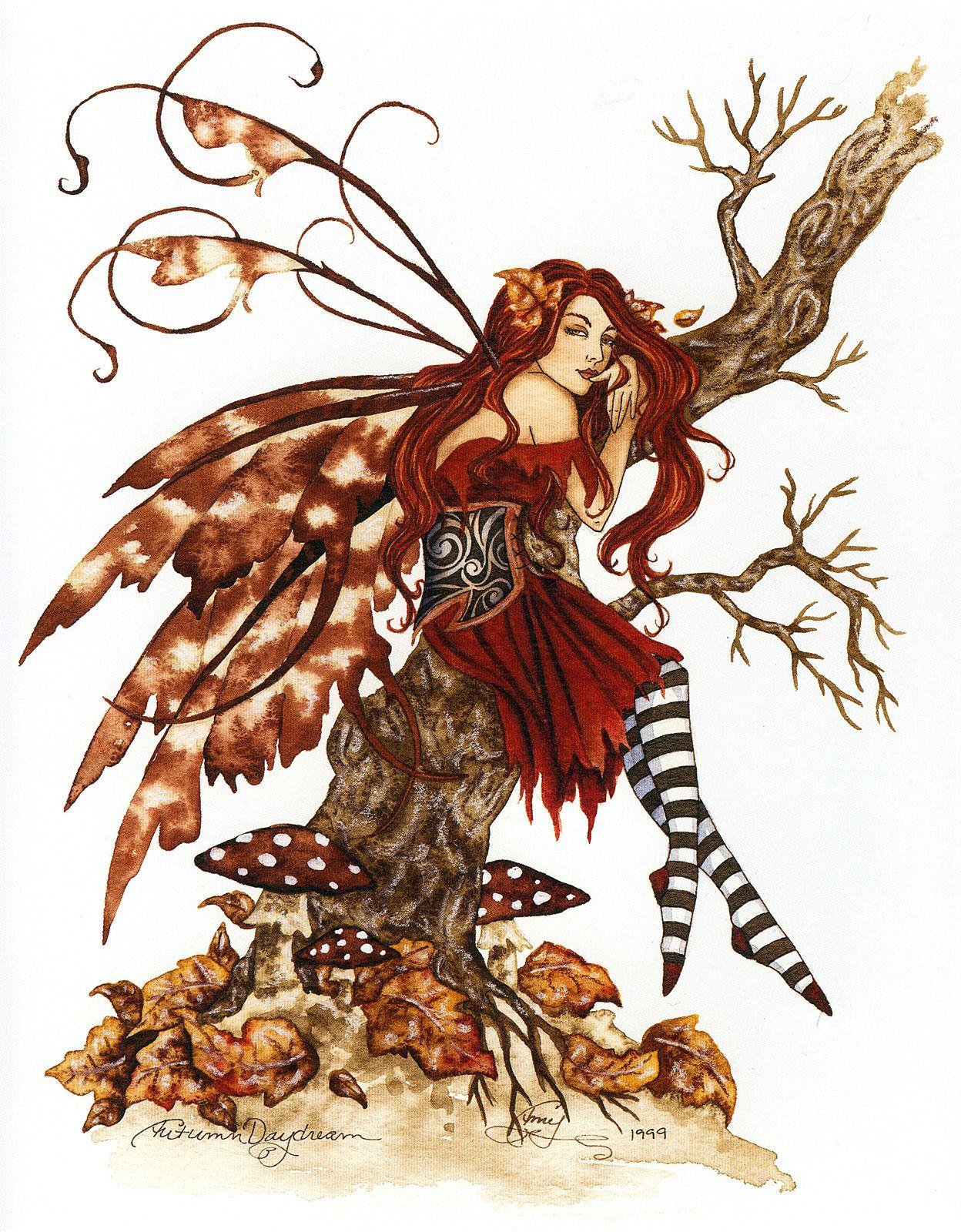 Autumn Daydream. Amy Brown.