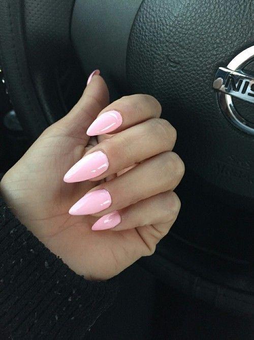 Light Pink Stiletto Nails Nails Nail Stiletto Nail Art Nail