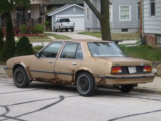 Top 10 Ugliest Cars From The 1980s Funny With Images Car