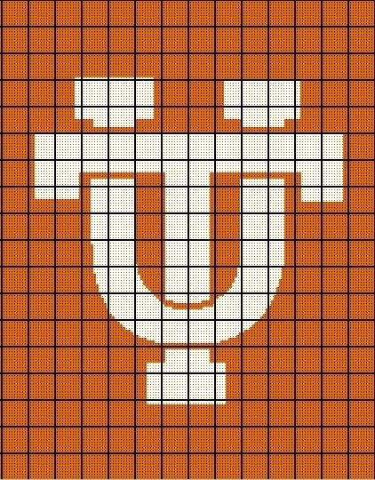 $5 - University of Tennessee Vols - Crochet Afghan Pattern ...