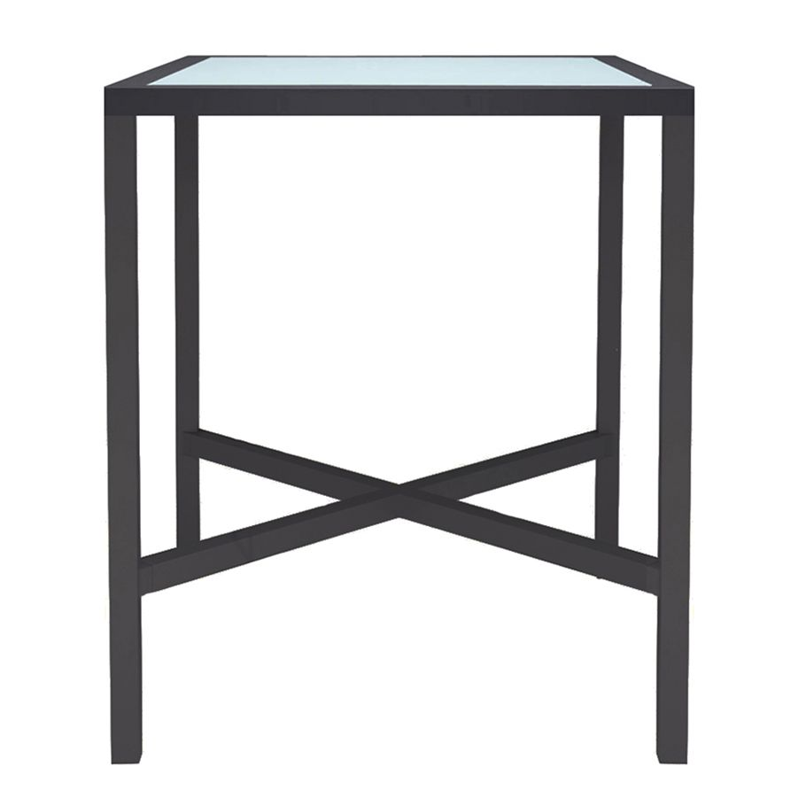 Exceptionnel KOKO II GLASS TOP BAR TABLE SQUARE 91   JANUS Et Cie