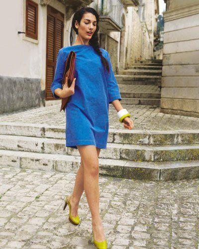 Schnittmuster: Kleid selber nähen | Pinterest | Blaues kleid ...