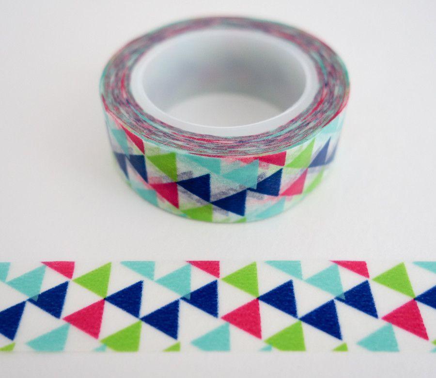 Washi bande designer 15mmx10m Rouleau Décoratif Papier Collant Ruban Adhésif
