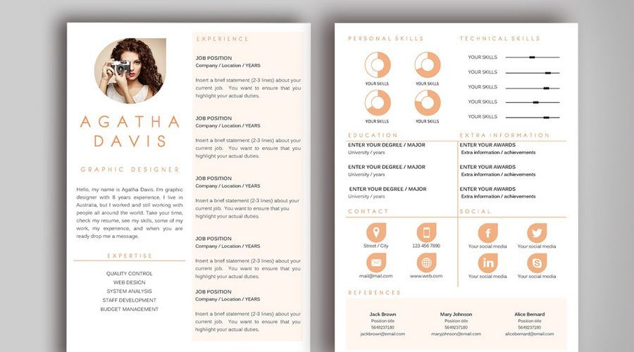 5 Tips For A Better Freelance Resume Creative Resume Templates Unique Resume Template Sample Resume Templates
