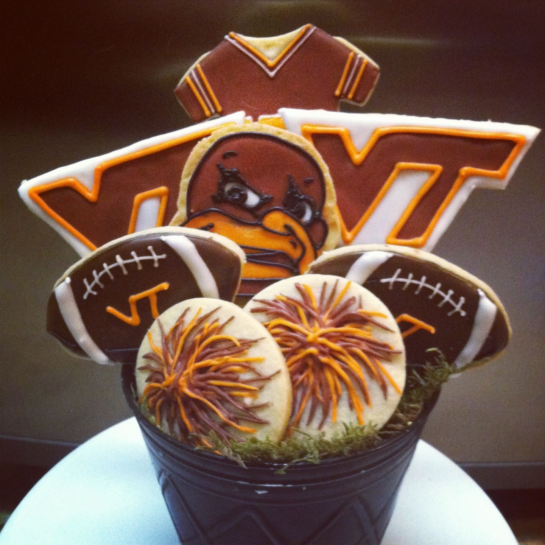 Virginia Tech cookie bouquet Cookie