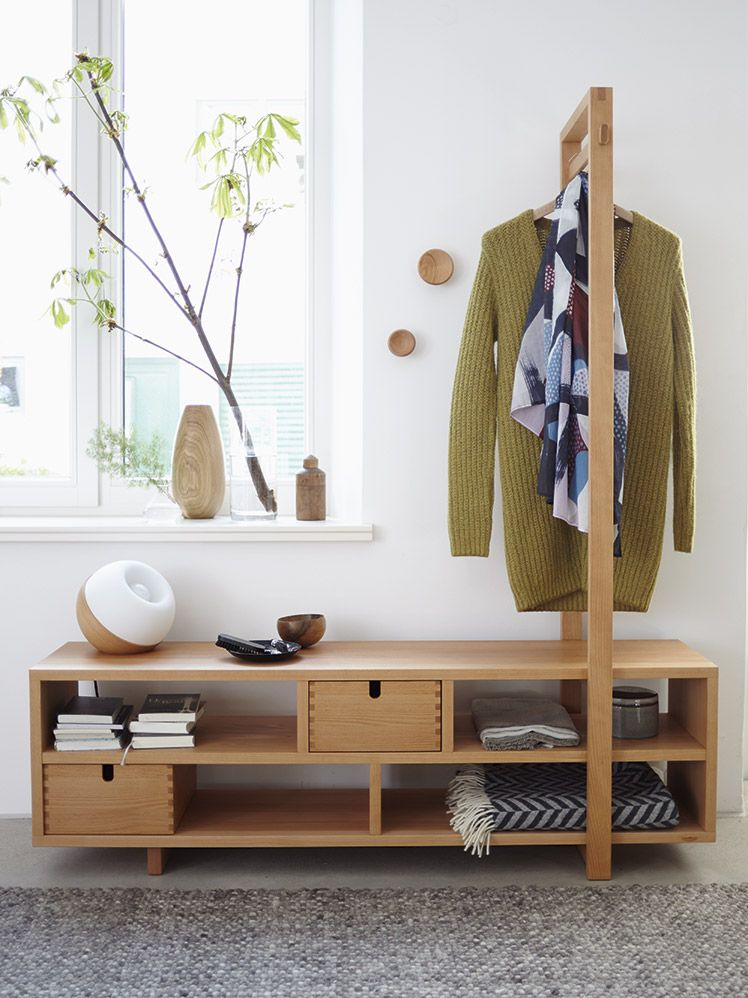 Garderobe Valetto Mit Bugel In 2020 Garderobe Holzverbindungen Und Bugel