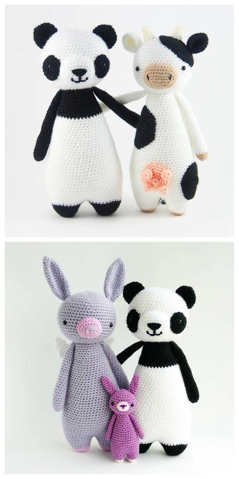 Amigurumi Crochet Panda Pattern Crafts Crochet Patterns