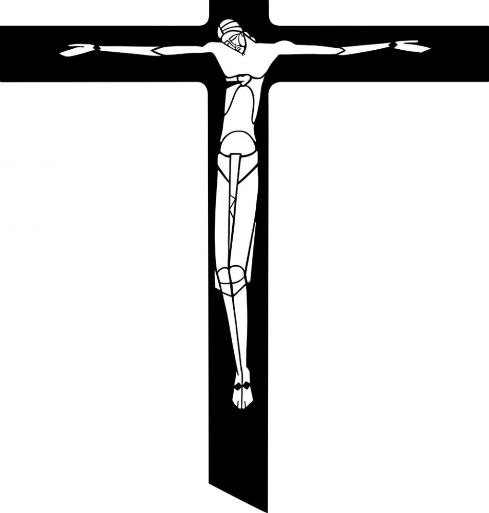 Crucifix Clipart Black And White | Clipart Panda - Free Clipart ...