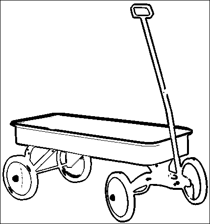 Wagon Coloring Pages Printable Painting inspiration Pinterest