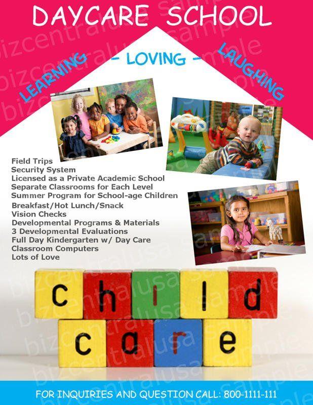 Image Result For Daycare Letterhead Home Daycare Pinterest