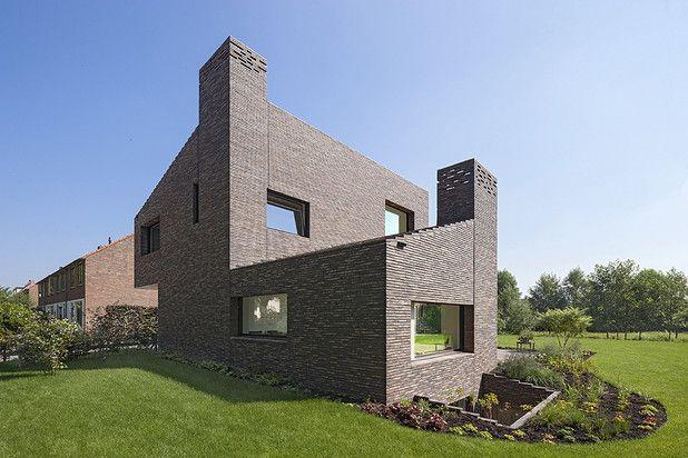 Brick House Groenekan By Zecc Architecten As Architects