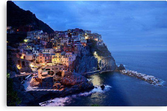 Amalfi Coast in Italy Metal Print by newburyboutique