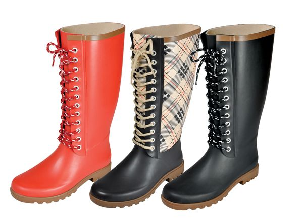 Rugged Shark-Women's rain boots-Fashion Plaid- I just bought the middle  boot at the Avenue Outfitters in Anchorage Ak :) S Rod