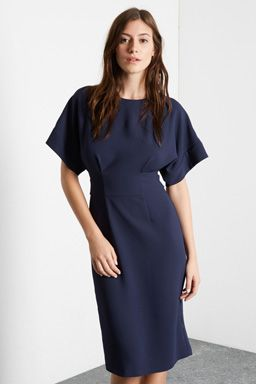 9ee2168fae8 Browse and shop from the latest trends in dresses with Warehouse. Choose  from pinafore dresses