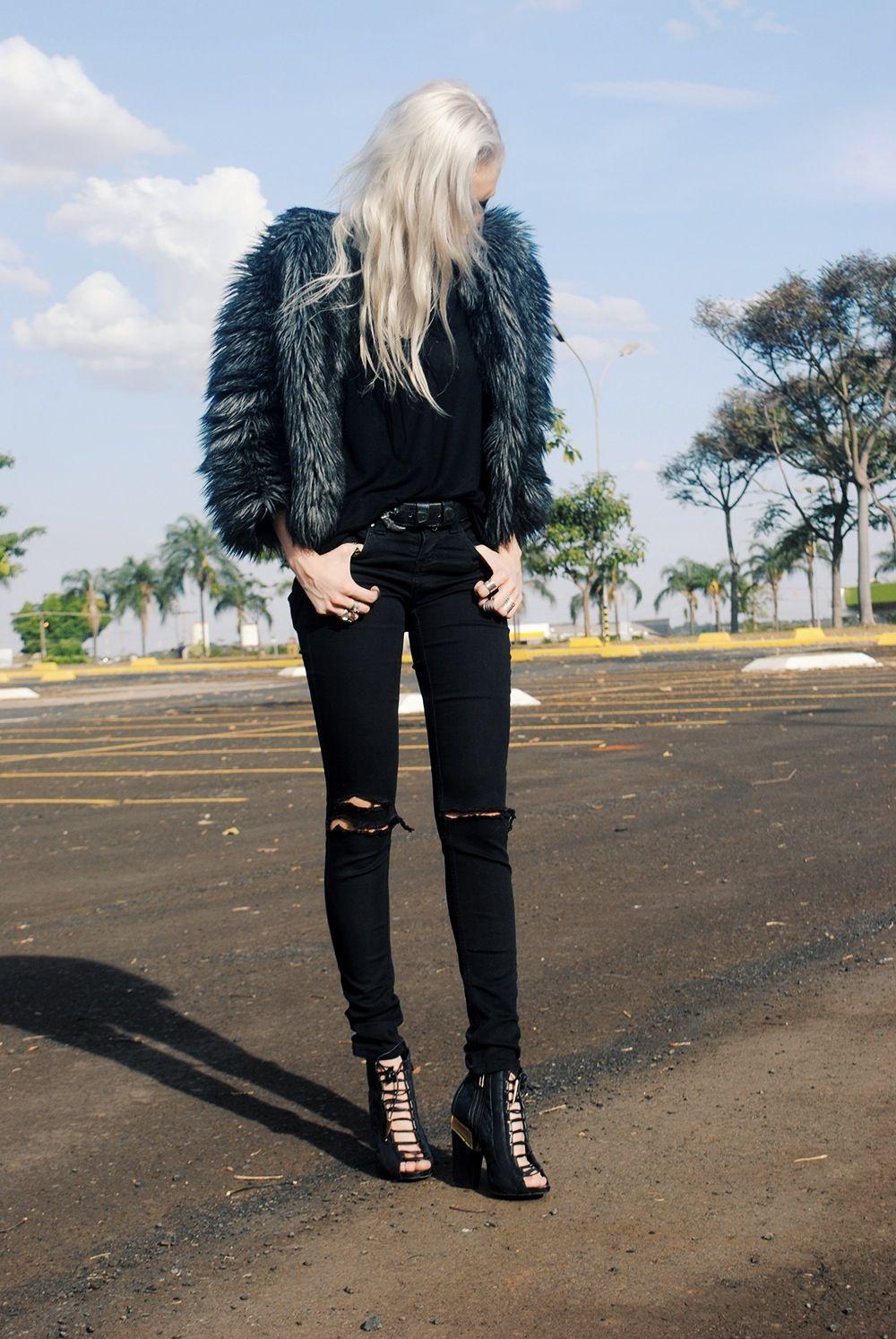 jeans rasgado | Obsessiva Compulsiva