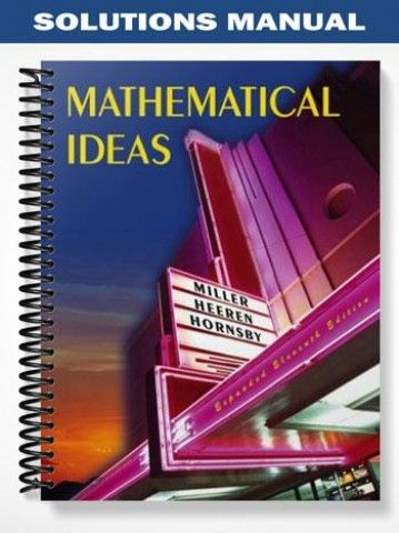 9780321586940: mathematical ideas value pack (includes math study.