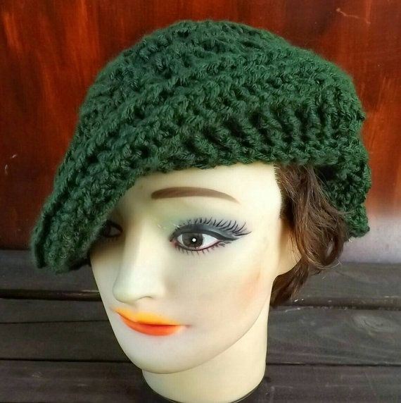 Crochet Patterns For Womens Hat Crochet Beret Pattern Hat Womens