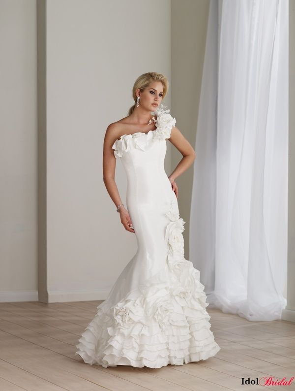 Simple wedding  dresses  IDAS043  $249.99 (USD)