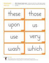 kindergarten worksheets dolch sight words flashcards 2nd grade 5